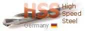 сверла по металлу HSS двухсторонние